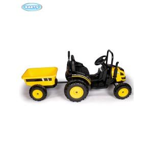 Электротрактор с прицепом TR001
