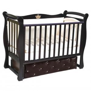 Детская кроватка JULIA 1 С МЯГКИМ ФАСАДОМ