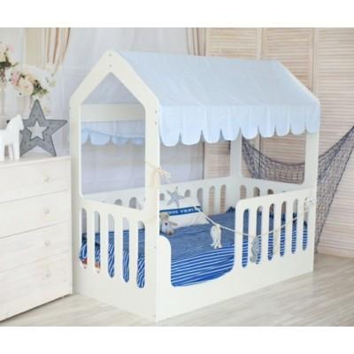 Кровать подростковая «Wooden bed»-5 160*80